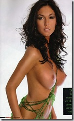 Miss Barcelona 2008 Ana Carolina Benitez topless for Interviu_231605
