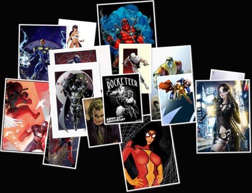 View comic artwork