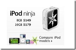 iPod-Ninja-Price